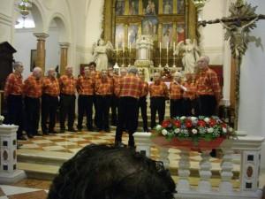 Rassegna Pianiga 2012: il coro Monti Scarpazi di Pianiga (Ve)