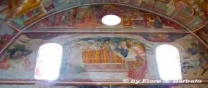 Sant'Angelo d'Alife (CE), 2011, Affreschi della Cappella di Sant'Antonio Abate: Natività.